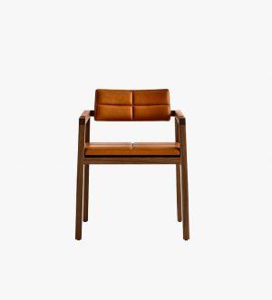 1960 Medium High Wood Chair
