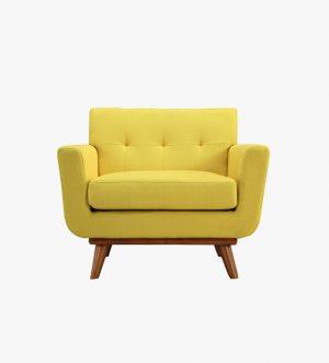 Yellow Single Sofa