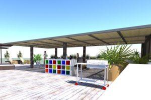 Puerta del Sol, Roof Garden